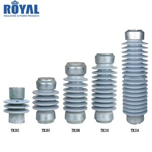 ANSI Standard Porcelain Station Post Insulator