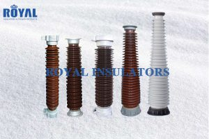 Hollow bushing insulators
