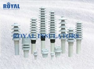 din type porcelain transformer bushing LV