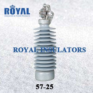 HORIZONTAL MOUNTING 55KV PORCELAIN LINE POST INSULATORS 57-25