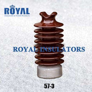 TIE TOP 35KV PORCELAIN LINE POST INSULATORS 57-3