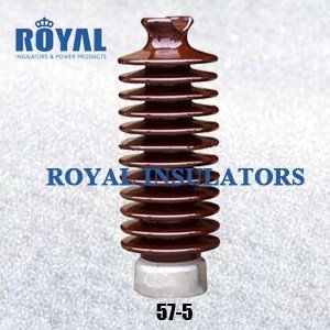 TIE TOP 55KV PORCELAIN LINE POST INSULATORS 57-5