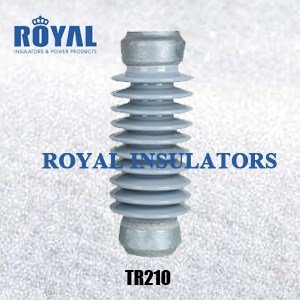 TR210 Porcelain Solid Core Post Insulators Support Rod Insulators