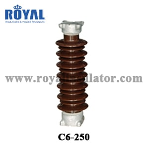 15kV Porcelain Solid core post insulator TR205